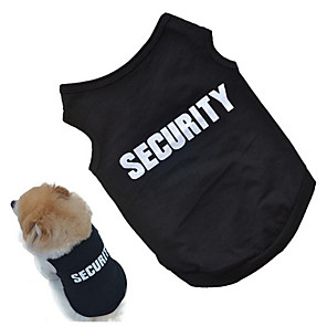 cheap Dog Clothes-New Fashion Summer Cute Pet Dog Puppy Clothes Cotton Printed Vest T Shirts High Quality