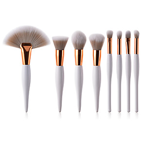 cheap Makeup Brush Sets-Professional Makeup Brushes Makeup Brush Set 8pcs Full Coverage Synthetic Hair Wooden / Bamboo for Eyeliner Brush Blush Brush Lip Brush Eyebrow Brush Eyeshadow Brush Concealer Brush Eyelash Brush