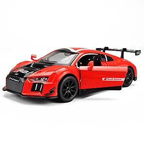 cheap Toy Cars-Toy Car Vehicles Race Car Race Car City View Cool Exquisite Metal Alloy Mini Car Vehicles Toys for Party Favor or Kids Birthday Gift 1 pcs