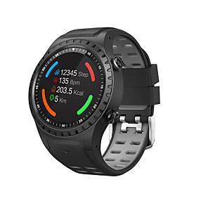 cheap Smartwatches-M1S Smart Watch Bluetooth Fitness Tracker Support Notification/ Heart Rate Monitor Built-in GPS Sports Smartwatch Compatible with iPhone/ Samsung/ Android Phones