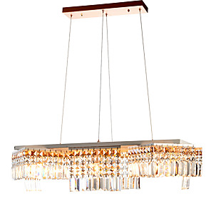 cheap Cluster Design-ZHISHU 10-Light 90 cm Mini Style / Creative / New Design Chandelier Metal Island Electroplated / Painted Finishes Contemporary / Artistic 110-120V / 220-240V