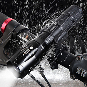 cheap Bike Lights & Reflectors-LED Bike Light Front Bike Light Bicycle Cycling Waterproof 360° Rotation Super Brightest Portable 1000 lm Cold White Camping / Hiking / Caving Cycling / Bike - WOSAWE / Aluminum Alloy