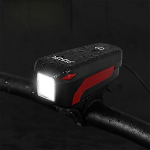 cheap Bike Lights & Reflectors-LED Bike Light Front Bike Light Bike Horn Light Mountain Bike MTB Bicycle Cycling Waterproof Multiple Modes Super Brightest Portable 350 lm Rechargeable USB Camping / Hiking / Caving / IPX-5