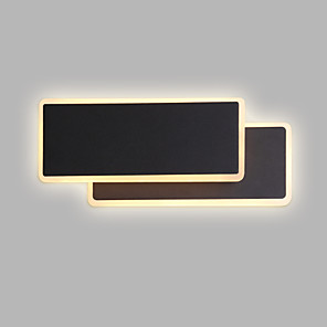 cheap Indoor Wall Lights-CONTRACTED LED Matte / New Design LED / Modern / Contemporary Wall Lamps & Sconces Living Room / Bedroom / Study Room / Office Metal Wall Light 110-120V / 220-240V 8 W