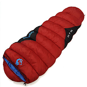 cheap Sleeping Bags & Camp Bedding-Jungle King Sleeping Bag Outdoor Camping Mummy Bag 0 °C Hollow Cotton Portable Warm Thick 230*80 cm Spring Summer All Seasons for Camping / Hiking / Caving