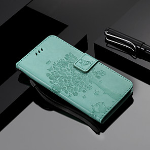 cheap Other Phone Case-Case For LG LG X Power 2 / LG X Power3 / LG X Power Wallet / Card Holder / with Stand Full Body Cases Cat / Tree PU Leather
