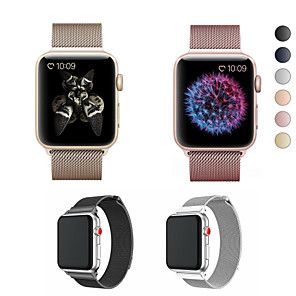 cheap Smartwatch Bands-Watch Band for Apple Watch Series 5/4/3/2/1 Apple Milanese Loop Stainless Steel Wrist Strap