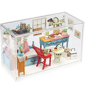 cheap Costumes Jewelry-Dollhouse Lovely DIY Exquisite Romance Furniture Wooden Contemporary Kid's Adults' Girls' Toy Gift