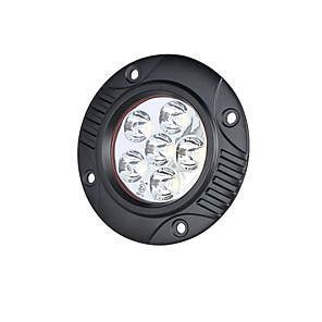 cheap Vehicle Working Light-Lights Maker 1 Piece Car Light Bulbs 18 W SMD 3030 6 LED Fog Light For universal All years