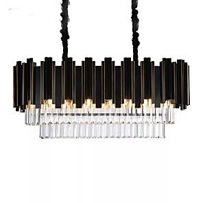 cheap Pendant Lights-QIHengZhaoMing 8-Light 35 cm Chandelier Metal Painted Finishes Modern 110-120V / 220-240V