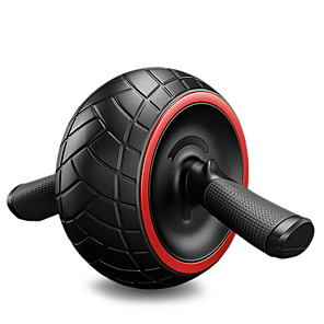 cheap Fitness Gear & Accessories-Ab Wheel Roller TPE PP Durable Weight Loss Training Tummy Fat Burner Exercise & Fitness Gym Workout Workout For Waist & Back Abdomen Home