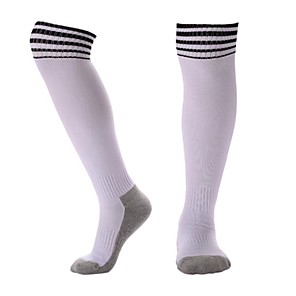 cheap Soccer Shoes-Teen Football Socks Athletic Sports Socks Soccer Socks Cotton Boys' Girls' Stripes Compression Socks Long Socks Running Basketball Baseball Breathable Sweat-wicking Winter Sports Outdoor 1 Pair