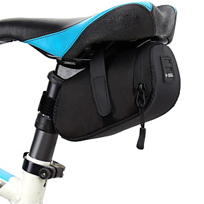 cheap Bike Handlebar Bags-2 L Bike Saddle Bag Waterproof Hardshell Durable Bike Bag 600D Polyester Bicycle Bag Cycle Bag Cycling Bike / Bicycle