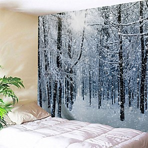 cheap Wall Tapestries-Novelty / Holiday Wall Decor Polyester / 100% Polyester Classic Wall Art, Wall Tapestries Decoration