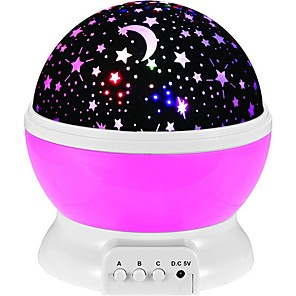 cheap LED String Lights-360 Rotating Star Projector Light Tiktok Star Light Nebula Projector Galaxy Starry Sky Projector Lamp Night Light for Kids Bedroom Sky Scene LED Lighting Creative Gift