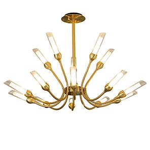 cheap Candle-Style Design-15-Light LWD 90 cm New Design / Candle Style / Tree Chandelier Metal Sputnik Artistic / Vintage 110-120V / 220-240V