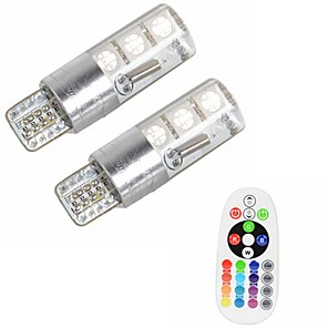 cheap LED Recessed Lights-2pcs T10 Car Light Bulbs 3 W SMD 5050 500 lm 6 LED Turn Signal Light For