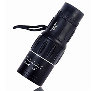 cheap Car Charger-52mm 16X Magnification High-power Ultra-clear Dual Adjustable Monocular Telescope