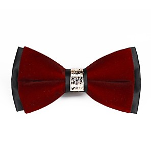cheap Men's Accessories-Unisex Work / Basic Bow Tie - Solid Colored Bow