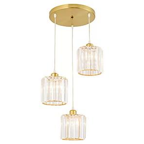 cheap Ceiling Lights-QIHengZhaoMing 3-Light 30 cm Chandelier Metal Electroplated Traditional / Classic 110-120V / 220-240V