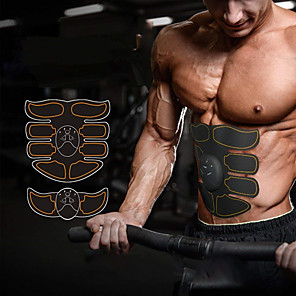 cheap Fitness Gear & Accessories-Abs Stimulator Abdominal Toning Belt EMS Abs Trainer Smart Electronic Muscle Toner Muscle Toning Tummy Fat Burner Ultimate Training Exercise & Fitness Gym Workout Bodybuilding For Leg Abdomen Home