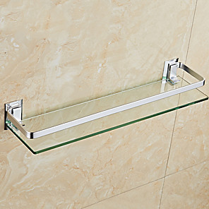 cheap Towel Bars-Bathroom Shelf Wall Mount Design / Cool Modern Glasses / Stainless Steel 1Set 44CM Length