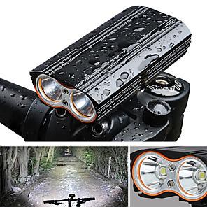 povoljno Baterijske svjetiljke-LED Svjetla za bicikle Prednje svjetlo za bicikl Svjetlo za bicikle Bicikl Biciklizam Vodootporno Prijenosno Quick Release 2000 lm Može se puniti USB Kampiranje / planinarenje / Speleologija