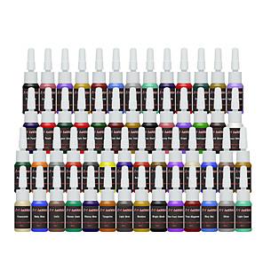 cheap Tattoo Ink-solong tattoo ink 54 colors set 8ml bottle tattoo pigment kit