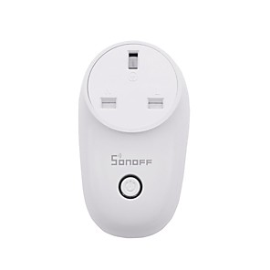 cheap Home Supplies-SONOFF Smart Plug S26UK for Kitchen / Living Room / Courtyard Smart / APP Control / Timing Function WIFI 2.4G 100-240 V