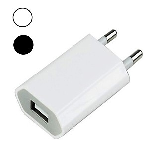 cheap Wall Chargers-Portable Charger USB Charger EU Plug QC 3.0 1 USB Port 1 A 100~240 V for Universal