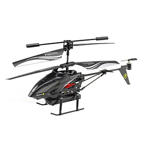 cheap Reborn Doll-RC Helicopter WLtoys LX0068A 5CH Infrared With Camera RTF LED Lights / Hover / Remote Control