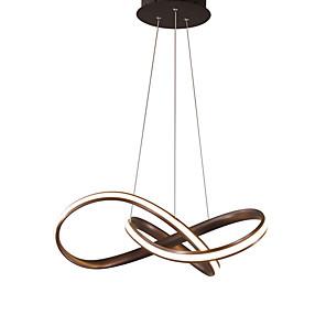 cheap Flush Mounts & Semi Flush Mounts-1-Light Modern Sputnik Chandelier Metal Simplicity LED Pendant Lights Living Room Bedroom Restaurant
