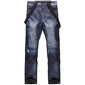 cheap Smartwatches-Men's Ski / Snow Pants Ski / Snowboard Hiking Waterproof Windproof Warm Eco-friendly Polyester Cotton Bib Pants Ski Wear