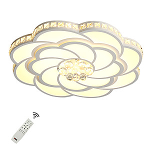 cheap Flush Mounts & Semi Flush Mounts-1-Light UMEI™ 68 cm Crystal / New Design Flush Mount Lights Metal Acrylic Novelty Painted Finishes Artistic / Modern 110-120V / 220-240V / FCC