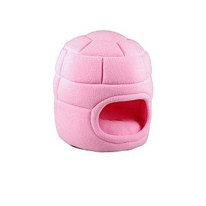 cheap Cat Beds & Carriers-Dog Cat Bed Fabric Pet Mats & Pads Solid Colored Warm Soft washable Pink