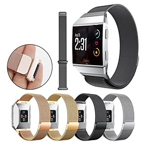 cheap Smartwatch Bands-Watch Band for Fitbit ionic Fitbit Milanese Loop Stainless Steel Wrist Strap