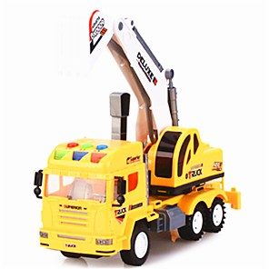 cheap Toy Cars-1:32 Plastic Plastic Shell Construction Truck Set Toy Truck Construction Vehicle New Design Simulation Kids Car Toys