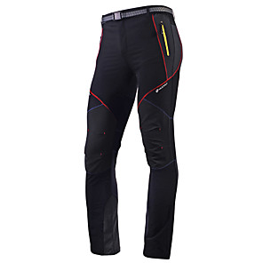 cheap Cycling Jerseys-Nuckily Men's Cycling Pants Polyester Bike Pants / Trousers Tights Pants Waterproof Breathable Quick Dry Sports Black / Gray Mountain Bike MTB Road Bike Cycling Clothing Apparel Advanced Relaxed Fit