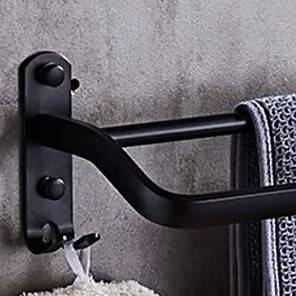 cheap Towel Bars-Towel Bar Premium Design / Cool Modern Stainless Steel / Iron 1pc Double Wall Mounted