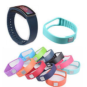cheap Smartwatch Bands-Watch Band for Gear Fit Samsung Galaxy Sport Band Ceramic / Silicone Wrist Strap