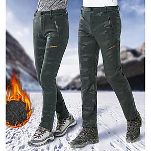 cheap Car DVD Players-Men's Ski / Snow Pants Skiing Camping / Hiking Snowboarding Thermal / Warm Waterproof Windproof POLY Elastane Pants / Trousers Ski Wear / Winter / Camo / Camouflage