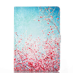 cheap iPad case-Case For Apple iPad Mini 5 / iPad New Air(2019) / iPad Air Card Holder / with Stand / Flip Full Body Cases Tree / Flower Hard PU Leather / iPad Pro 10.5 / iPad (2017)