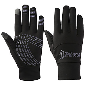 cheap Camping Tools, Carabiners & Ropes-Bike Gloves / Cycling Gloves Ski Gloves Touch Gloves Men's Women's Snowsports Full Finger Gloves Winter Warm Canvas Ski / Snowboard