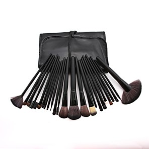 cheap Makeup Brush Sets-Professional Makeup Brushes Blush Brush 24pcs Full Coverage Plastic for
