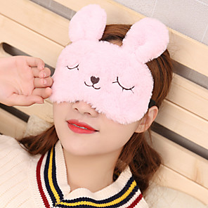 cheap Dolls Accessories-Travel Eye Mask / Sleep Mask Travel Rest Sun Shades 1pc For Home For Office Fabric