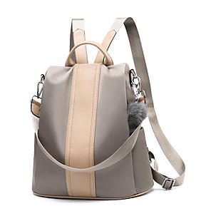 b08ff30f8a Μη Διαθέσιμο. Γυναικεία Τσάντες PU Σχολική τσάντα Μονόχρωμο Συμπαγές Χρώμα  Μαύρο ...