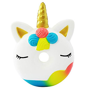 cheap RC Cars-Squishy Squishies Squishy Toy Squeeze Toy / Sensory Toy Jumbo Squishies Donuts Unicorn Horse Stress and Anxiety Relief Super Soft Slow Rising PORON For Kid's Adults' Boys' Girls' Gift Party Favor 1