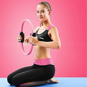 cheap Fitness Gear & Accessories-Pilates Ring 40 cm Diameter EVA Resin NBR Fiber Anti Slip Thickening Durable Portable Strengthens Muscle Tone Improves Balance And Body Posture Yoga Pilates Exercise & Fitness For Women Waist Leg