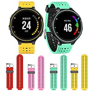 cheap Smartwatch Bands-Watch Band for Forerunner 620 / Forerunner 235 / Forerunner 230 Garmin Sport Band Silicone Wrist Strap / Forerunner 220