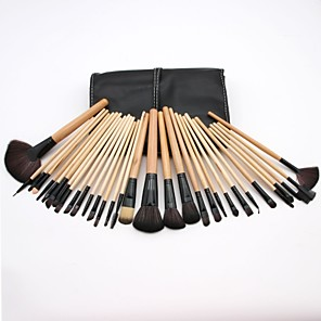 cheap Makeup Brush Sets-32pcs-makeup-brushes-professional-blush-brush-eyeshadow-brush-lip-brush-nylon-fiber-full-coverage-plastic